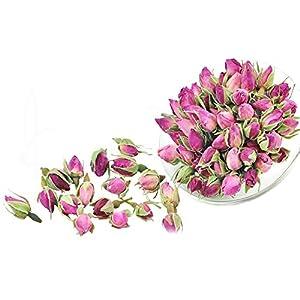Pink Rose Tea - Rose Tea - Herbal - Decaffeinated - Flower Tea - Tea - Loose Tea - Loose Leaf Tea - 8oz