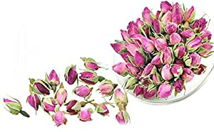 Pink Rose Tea - Rose Tea - Herbal - Decaffeinated - Flower Tea - Tea - Loose Tea - Loose Leaf Tea - 1oz