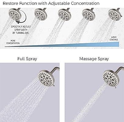 Spot Defense Brushed Nickel Pfister 8P8-WS2-JDSGS Jaida Tub and Shower Faucet