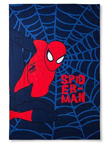 (Marvel Spider-Man Web Blue Bed Blanket (Twin))