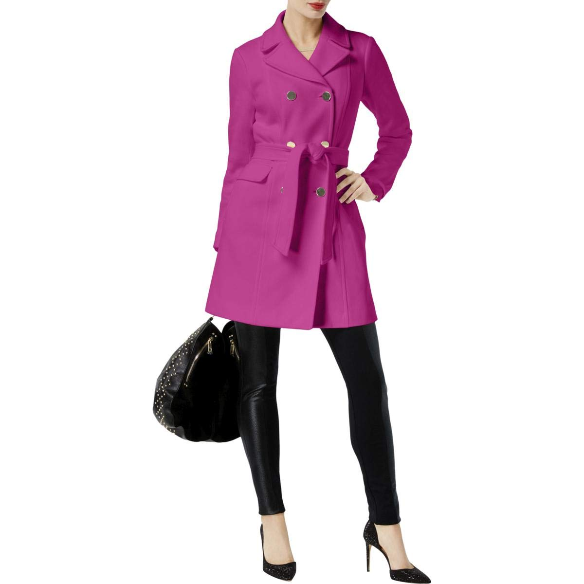 Berryice INC Womens DoubleBreasted Pea Coat