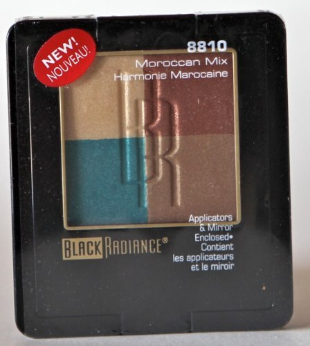 Black Radiance Eyeshadow Palette w/ Applicators & Mirror 881
