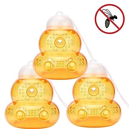 Amazon.com: Trampas antiavispas no tóxicas para atrapar ...