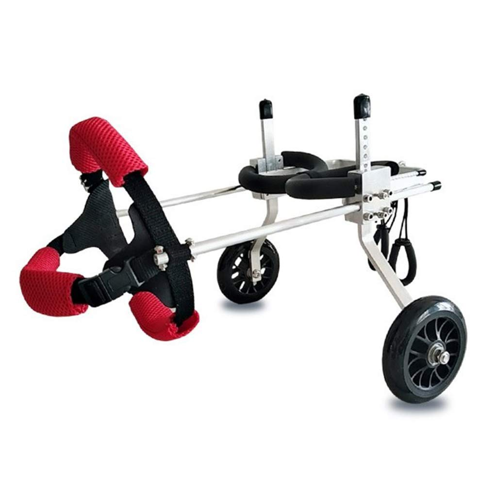 B Zyy Dog Wheelchair For Back Legs Mobility Harness Rear Support Wheelchair Hind Legs Rehabilitation Aid Red (Size   B)