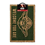 Star Wars Yoda Welcome You Are Door Mat 60x40cm