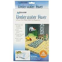 Lifegard Aquatics R440371 Underwater River with Air Pump Medium