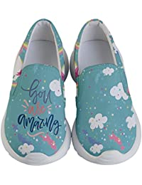 Child & Youth Slip Ons Joyful Animals & Lovely Unicorn...