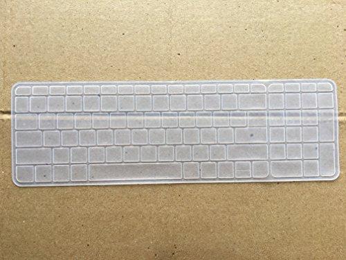 Neon Keyboard skin for HP Pavilion 15.6 inch Laptop  Transparent