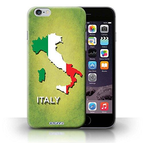 KOBALT® Hülle Case für iPhone 6+/Plus 5.5   Italien/Italienisch Entwurf   Flagge Land Kollektion