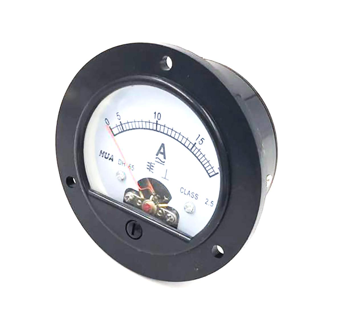 Jhe Round Shaped Ammeter AC 0-20A Analog Current Panel Meter Gauge Amperemeter Class 2.5