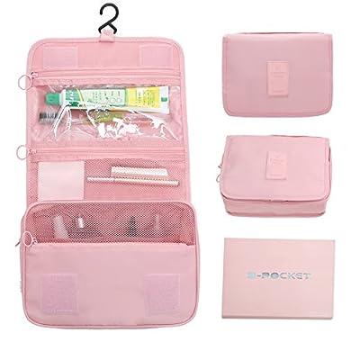 d408bd2cc7e6 high-quality hanging cosmetic travel bag Portable Travel Makeup Cosmetic  Bag waterproof travel bag makeup