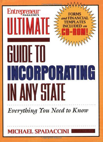 Ultimate Guide to Incorporating in Any State PDF