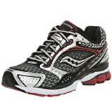 Cheap Saucony Men's ProGrid Triumph 5,Black/Red,8.5 M