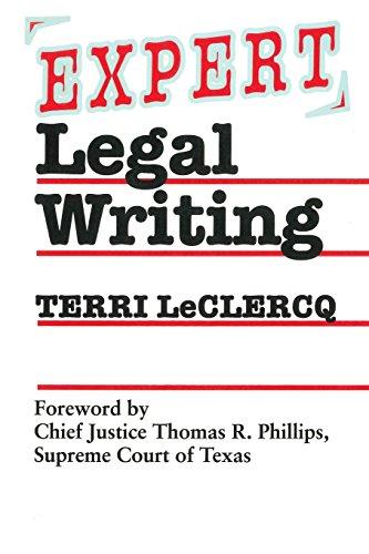 Expert Legal Writing