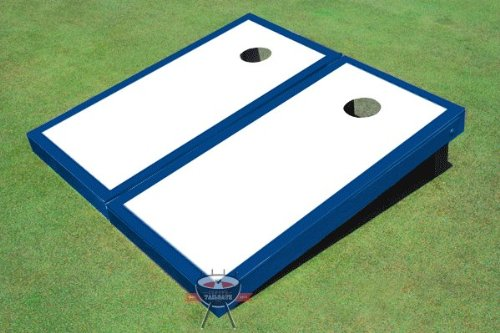White and B00CMDU38W Royal Game Matching Border White Corn穴ボードCornhole Game Set B00CMDU38W, オマエザキシ:b812012f --- gamenavi.club