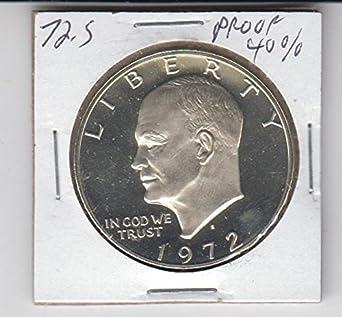 1972S EISENHOWER PROOF SILVER  DOLLAR