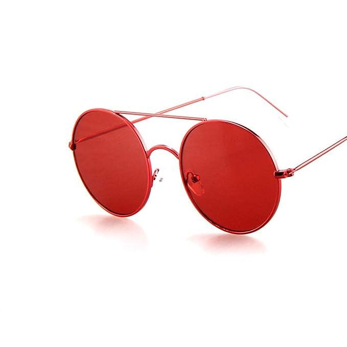 5a083081fc LOKI Gafas de sol polarizadas para conducir, gafas de sol estilo vintage  con diseño de jalea transparente en color Classic Retro Retro UV400-Purple  para ...