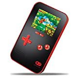 "My Arcade GoGamer Portable Gaming System with 220 HiRes 16 bit Retro Style Games & 2.5"" LCD Screen– Red/Black"
