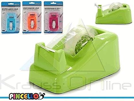 Licencias Dispensador celo Mesa 4 Colores Surtido: Amazon.es: Juguetes y juegos