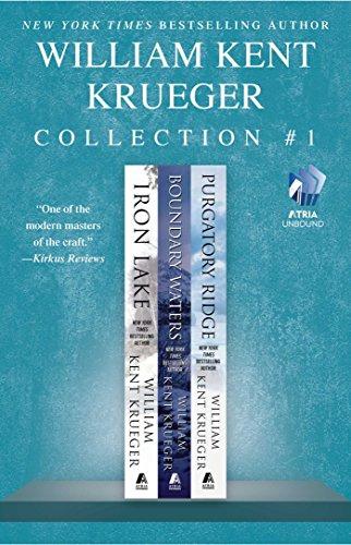 The William Kent Krueger Collection #1: Iron Lake, Boundary Waters, and Purgatory Ridge (Cork O'Connor Mystery (Ridge Water)