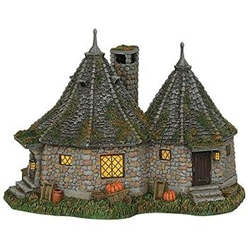 Image of Home and Kitchen Department 56 Harry Potter Village Hagrid's Hut Lit Building, 6.7'