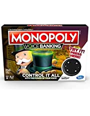 MONOPOLY - Voice Banking - Control It All With Your Voice - 2 to 4 Players - Family Board Games - Ages 8+