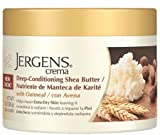 (2 Pack) Jergens Deep-Conditioning Shea Butter with Oatmeal 8 oz each