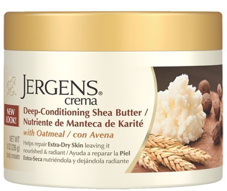 Jergens Butter Moisturizer - (2 Pack) Jergens Deep-Conditioning Shea Butter with Oatmeal 8 oz each