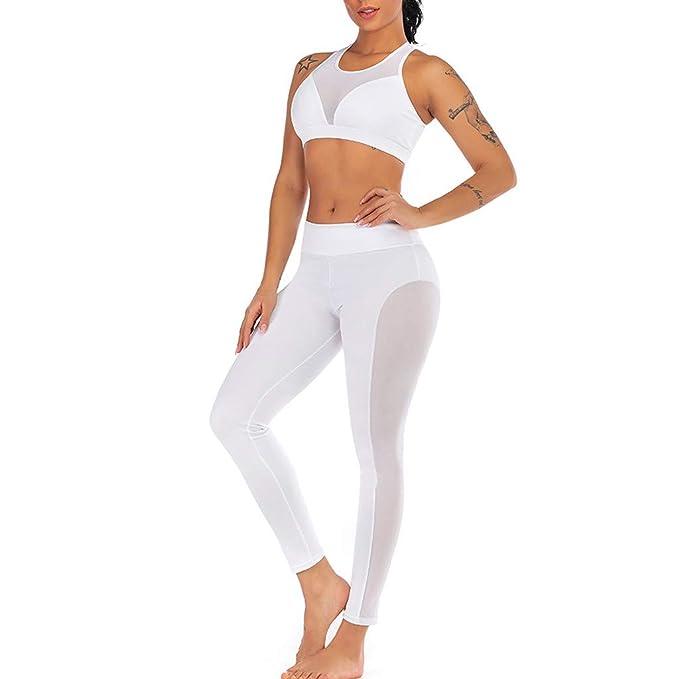 Mamahuhu Yoga Conjunto de Mujer, Mujeres Chaleco Deportivo ...