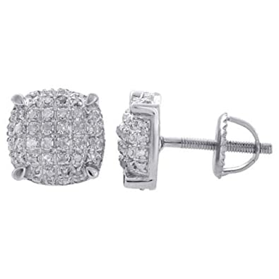 c64e97ead Image Unavailable. Image not available for. Color: Triostar 2 Carat  Solitaire Enhanced Diamond Stud Earrings ...