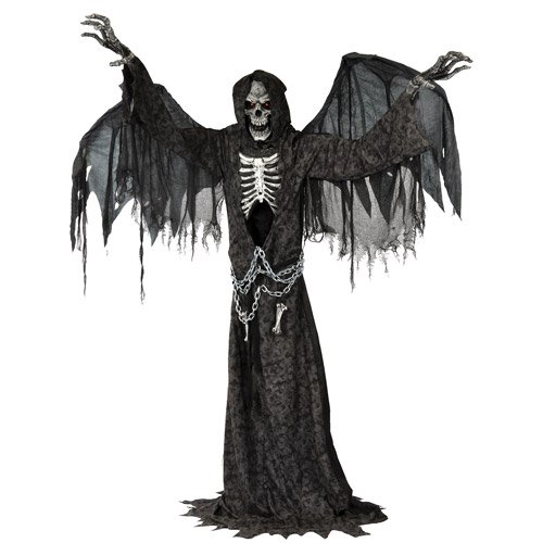 Angel of Death Life Size Animated Halloween Prop -