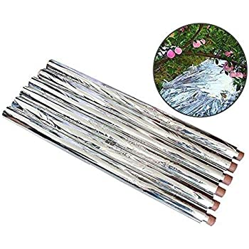Reflective Mylar Film Plants Garden Greenhouse Covering Foil Sheets Silver New