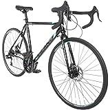 Vilano Tuono 2.0 Aluminum Road Bike Shimano 21 Speed Disc Brakes, 700c