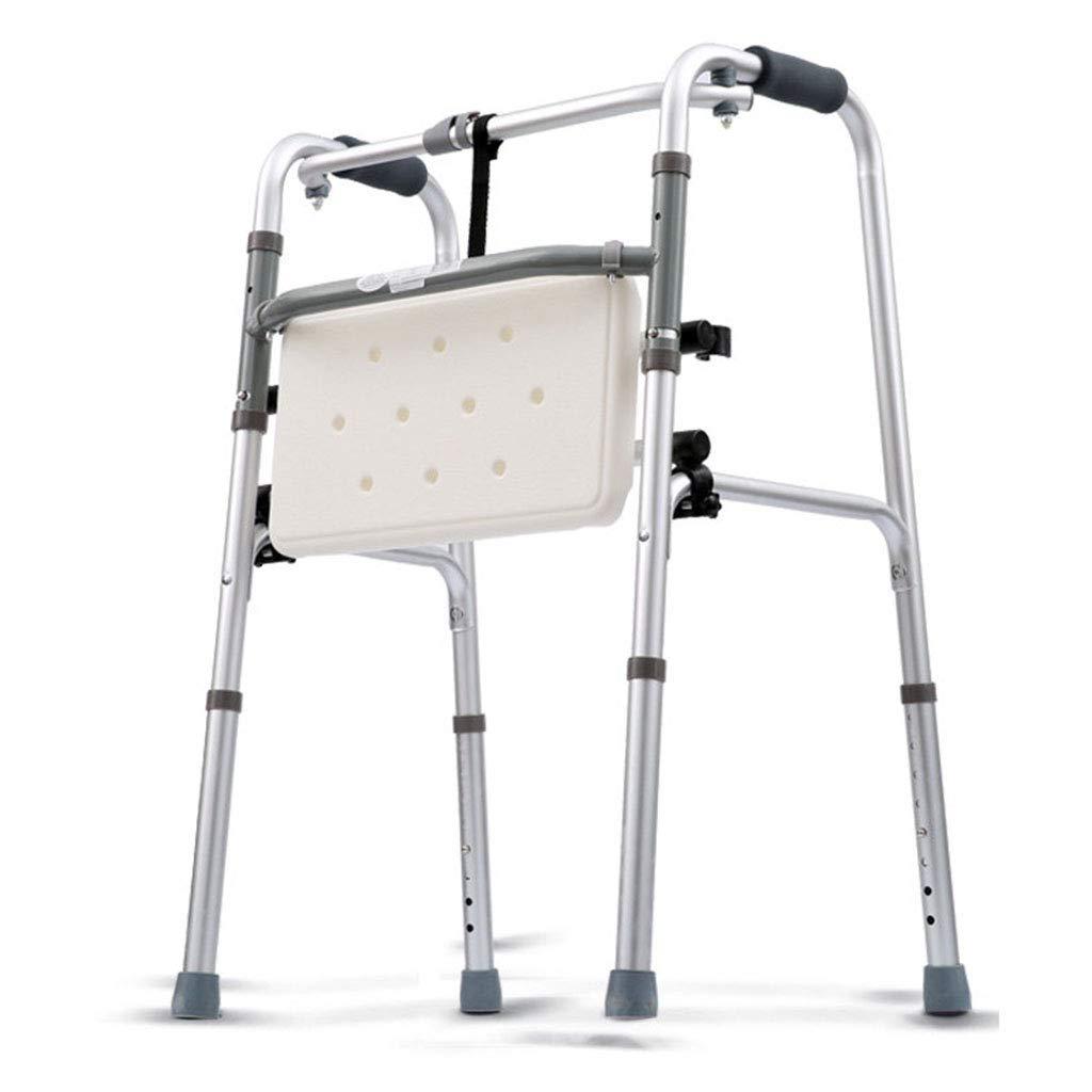 【正規品質保証】 折り畳み式軽量歩行器高齢アルミニウム合金アームレスト B07LCKKLYR Badebrett 耐荷重150kg - 耐荷重150kg Walker + Badebrett B07LCKKLYR, 伊具郡:bf10a343 --- a0267596.xsph.ru