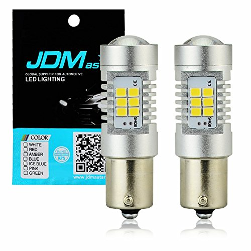 JDM ASTAR 2520 Lumens Extremely Bright PX Chips 1156 1141 1073 7506 White Backup Reverse LED Bulbs ()