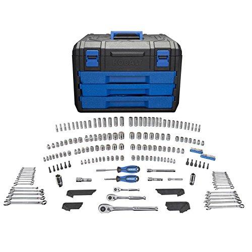 Kobalt 227-Piece Standard/Metric Mechanics Tool Set with Case 86756 by Kobalt