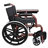 Khl Wheelchair With Mag Wheels-Red Brown