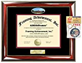 Diploma Frame OSU Oklahoma State University Graduation Gift Idea Engraved Picture Frames Engraving Degree Certificate Holder Graduate Him Her Nursing Business Engineering Education School