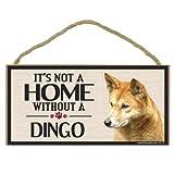 Imagine This Wood Sign for Dingo Dog Breeds