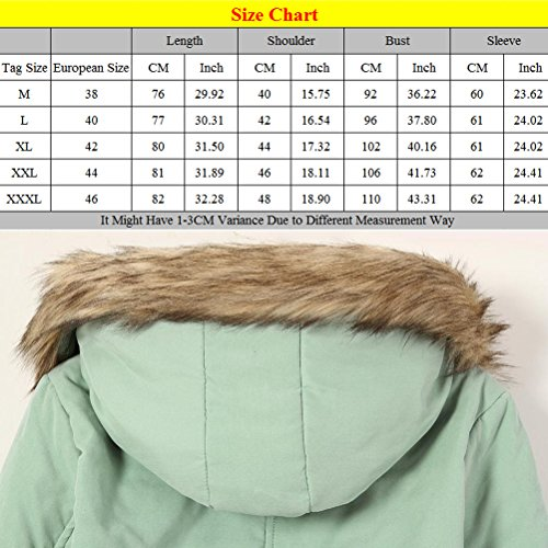 Rosa Military Mujer para Style Winter Badge Long Tooling Cotton Thickening Hooded Jackets Zhuhaitf Coats Ladies AqaH4w4x