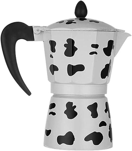 Cafetera Hervidor de aluminio doble Moka Latte Jarra con infusor ...