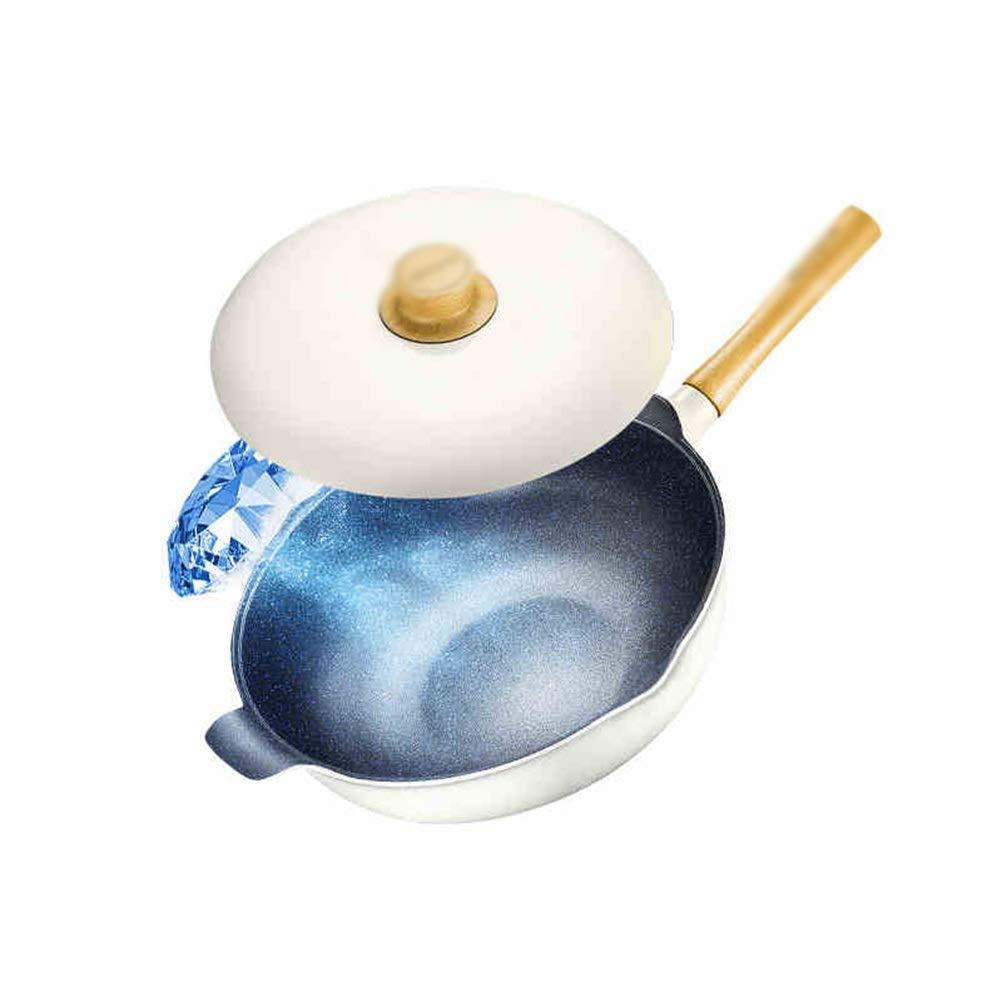 WYQSZ Wok - Non-stick wok, less smoke, exquisite and durable wok, multi-function wok -fry pan 2365
