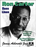 Ron Carter Bass Lines: Transcribed from Volume 35
