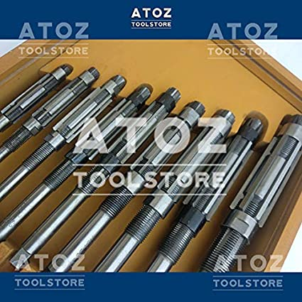ATOZ.Toolstore HV 6-56mm + Box 8//A-M 8//A-N HV-H16 + Extension Pilots Cutters H17 Expanding Adjustable Hand Reamer Tool Sets