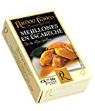 Ramón Franco Conservas | Mejillones en Escabeche | Galician Mussels in Olive Oil and Vinegar | Rías Gallegas, Spain | 12-16 Pieces per 115g Can