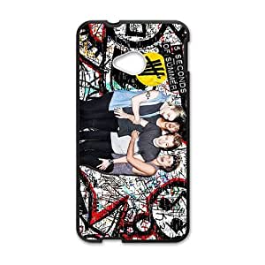 Happy 5 SOS Space Cell Phone Cell Phone Case for HTC One M7
