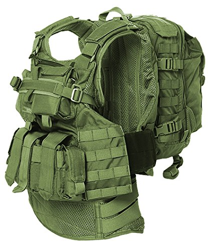 BA8029 Amran Tactical Semi Modular Vest made by Marom Dolphin by Marom dolphin