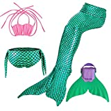 Mermaid Tails Diving with Mono Fin Sparkle