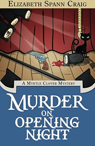 book cover of Murder on Opening Night