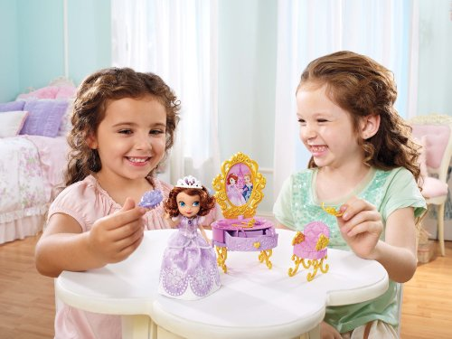 092234003834 - Disney Sofia The First Ready for The Ball Royal Vanity carousel main 3